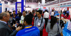 Packed walkways at the MEDICAL FAIR ASIA