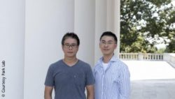 Image: Researchers Dong-Wook Kim (left) and Kwon-Sik Park were part of a team that has developed a way to better understand the complexities of cancer's causes; Copyright: Courtesy Park Lab