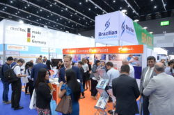 Picture: Visitors at MEDICAL FAIR THAILAND 2019