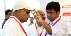 Product demonstration at the MEDICAL FAIR INDIA