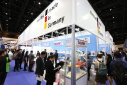 Foto: German Pavillon auf der MEDICAL FAIR THAILAND