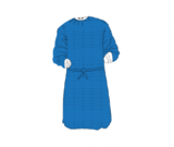 Long Sleeves Patient Gown
