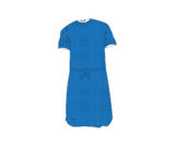 Short Sleeves Patient Gown