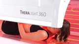 Photo Theralight with logo