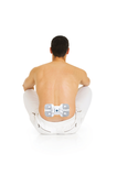 Back pain relief with actiTENS & lumbar electrode
