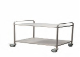 AD-253/G03 INSTRUMENT TROLLEY STAINLESS STEEL